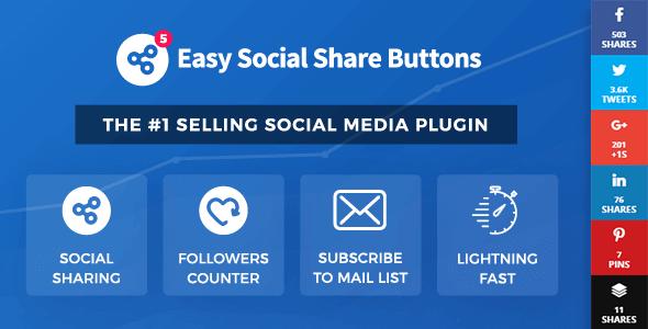 Best Free Social Share Plugin For WordPress