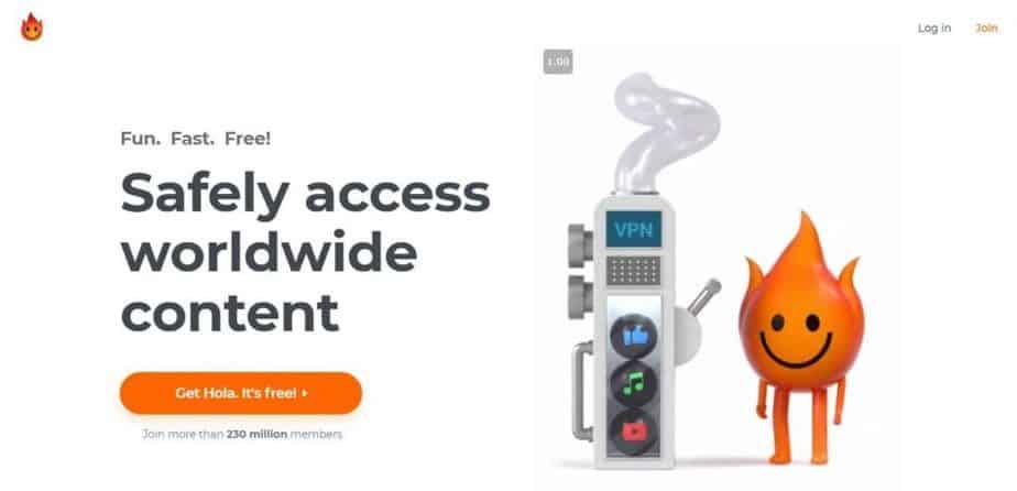 Hola VPN - Access Any Website